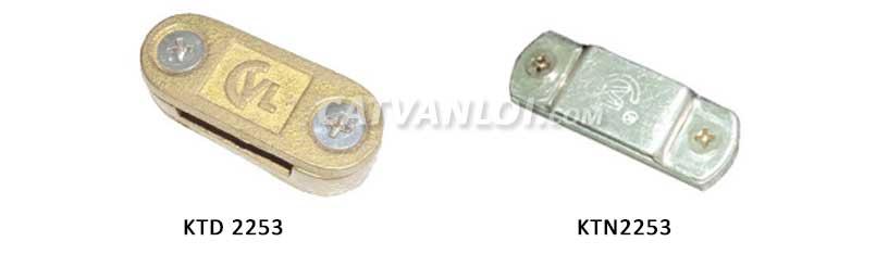 Kẹp thanh đồng, thanh nhôm cho hệ thống chống sét cổ điển