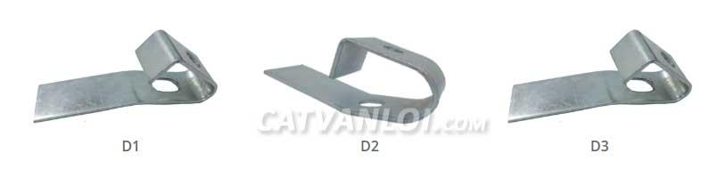 Kẹp xà gồ D1 - D2 - D3 (Purlin Clamp - Beam Clamp) CATVANLOI.COM