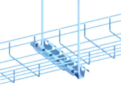 thanh treo máng cáp dạng lưới hình chữ M - Wire mesh tray