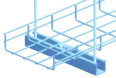 Kẹp giữ máng lưới với Unistrut