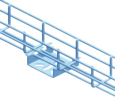 Kẹp máng cáp lưới kiểu nhện - Wire mesh cable tray