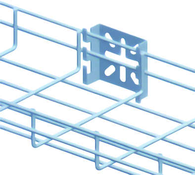Kẹp máng cáp dạng lưới kiểu nhện - Wire mesh tray