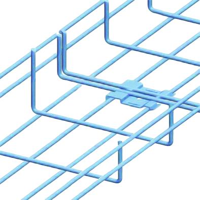 Nối máng cáp dạng lưới - Wire mesh tray fitting