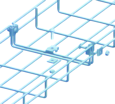 Nối máng cáp dạng lưới KK28 - Coupler - Wire mesh cable tray fittings