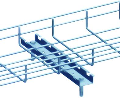 Thanh Omega cho máng cáp dạng lưới - Wire mesh tray