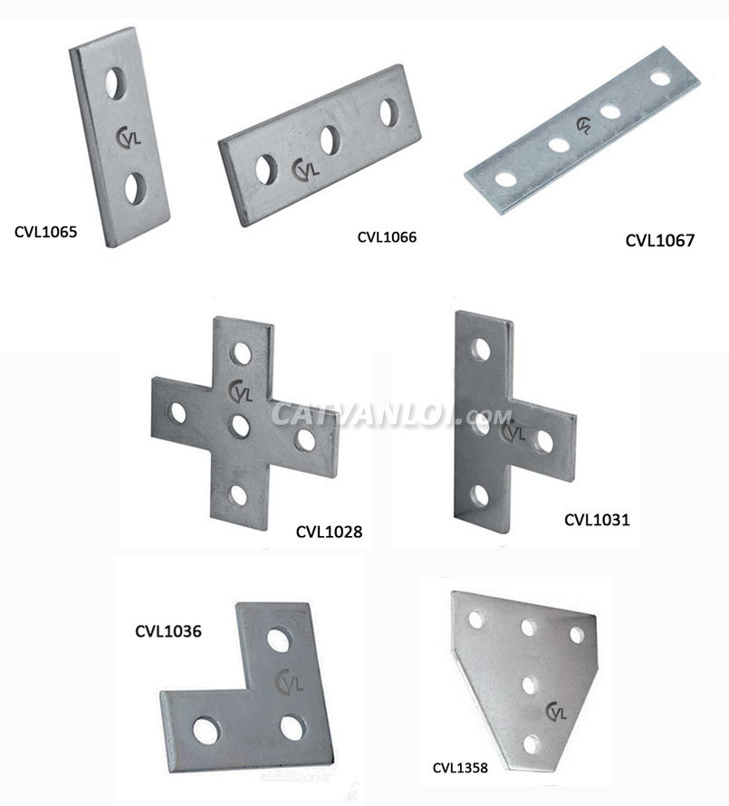 dem hinh - flat plate fittings