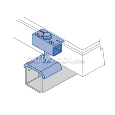 Kẹp biên tấm pin khung treo năng lượng mặt trời