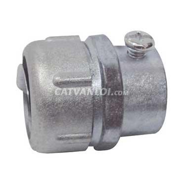 Đầu nối ống ruột gà và ống thép luồn dây điện trơn JIS loại E kín nước