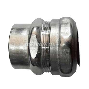 Đầu nối ống ruột gà và ống thép luồn dây điện ren IMC/RSC kín nước (INOX)