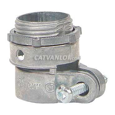 Đầu nối ống ruột gà với hộp điện /thiết bị (Antimon)