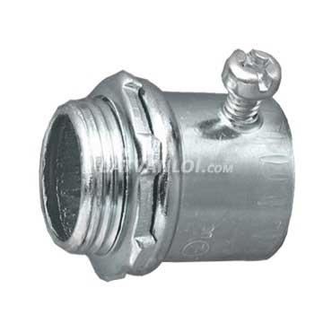 Đầu nối ống thép luồn dây điện trơn EMT và hộp điện (Thép) - ADNE