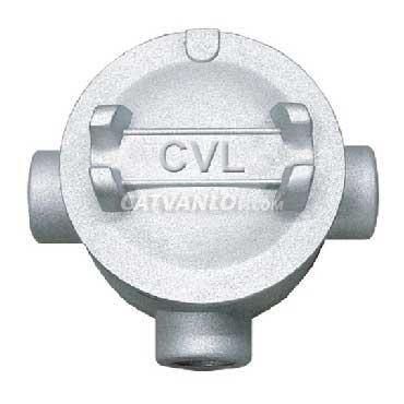 Hộp nối ống thép luồn dây điện ren 3 ngã dùng cho ống IMC/RSC