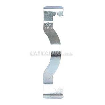 Kẹp treo ống thép luồn dây điện dạng K - K Clip