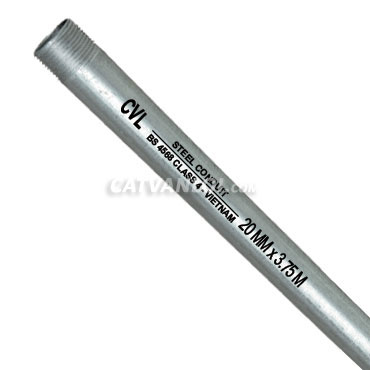 Ống thép luồn dây điện loại ren BS 4568 Class 4 - CVL