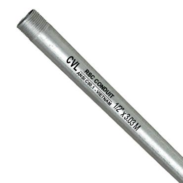 Ống thép luồn dây điện ren dày RSC CVL - Chứng nhận Hợp Chuẩn ANSI C 80.1