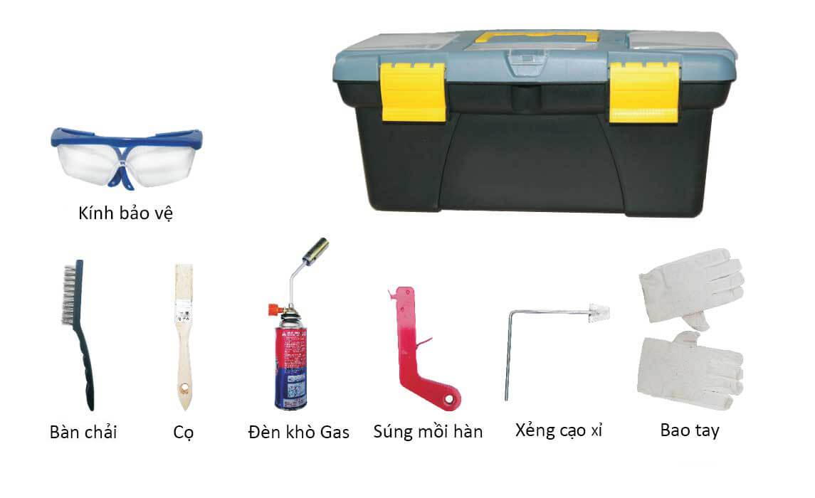 bộ dụng cụ hàn hóa nhiệt