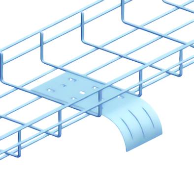 Miếng dẫn hướng máng lưới - Wire mesh tray