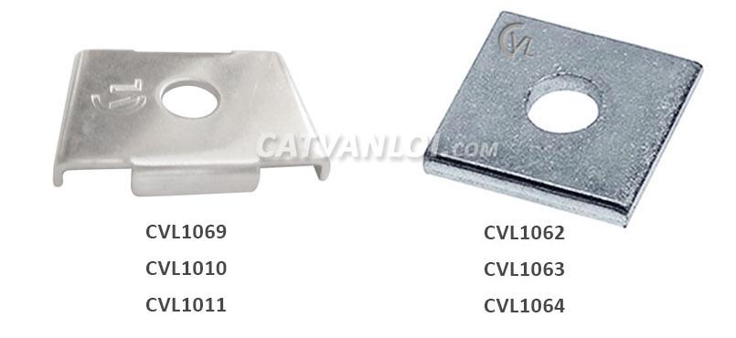 Đệm vuông thanh chống đa năng Unistrut - Flat Plate Fittings for Unistrut
