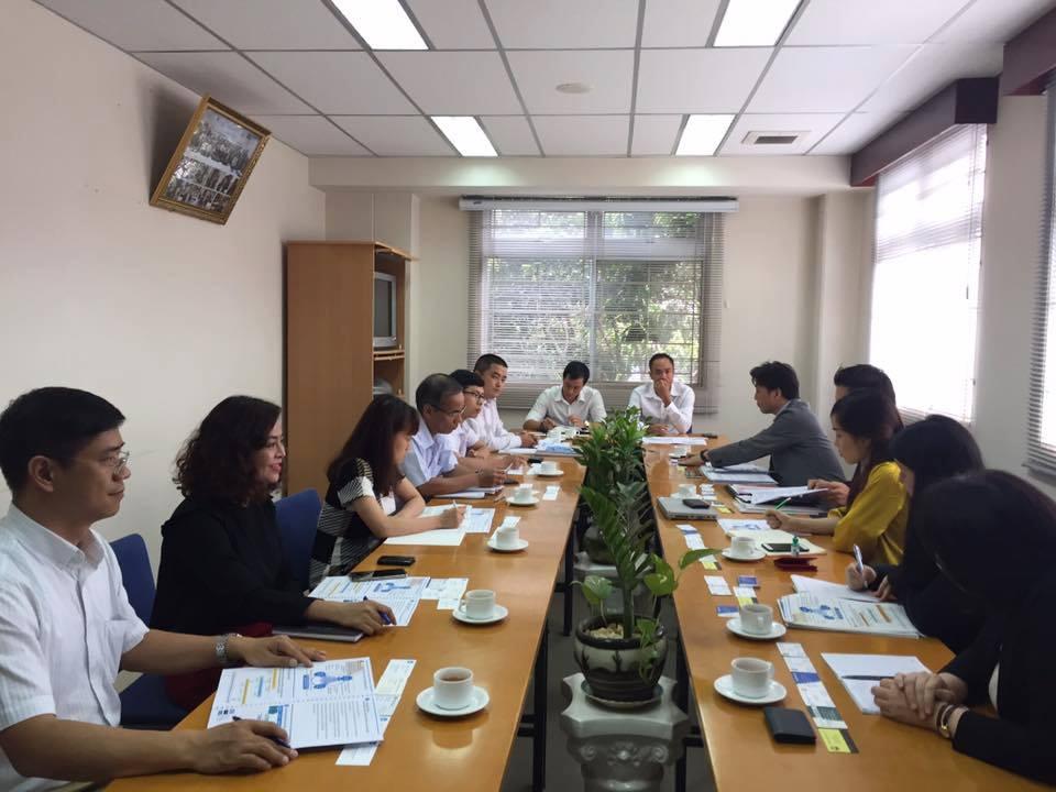 Cuộc họp với phái đoàn Jica Nhật Bản về dự án nhà máy sản xuất mới tại Củ Chi