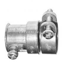 Đầu nối ống ruột gà và ống thép luồn dây điện trơn EMT (Antimon)