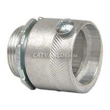 Đầu nối ống ruột gà với hộp điện /thiết bị (Nhôm)