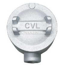 Hộp nối ống thép luồn dây điện ren 1 ngã dùng cho ống IMC/RSC