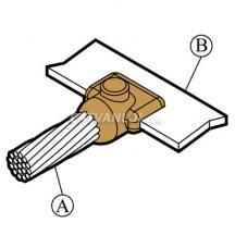 Mối nối hàn hóa nhiệt cáp với thanh đồng/nhôm CB4