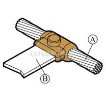 Mối nối hàn hóa nhiệt cáp với thanh đồng/ nhôm CB5