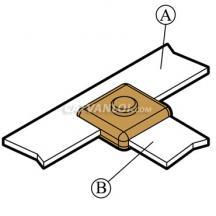 Mối nối hàn hóa nhiệt thanh đồng/ nhôm với thanh đồng/ nhôm BB14