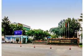 Nhà máy sản xuất Polypropylene và  kho ngầm chứa khí dầu mỏ hoá lỏng Hyosung ( Đồng Nai )