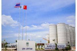 Nhà máy sản xuất thức ăn chăn nuôi CPV - Bình Phước
