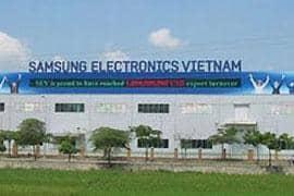 Nhà máy Samsung CE Complex (SECC) - HCM