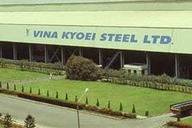 Nhà máy thép Vina Kyoei - Bà Rịa Vũng Tàu