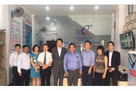 Phái đoàn cơ quan Hợp tác Quốc tế Nhật Bản (JICA) đến Công ty CÁT VẠN LỢI
