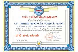 Cát Vạn Lợi gia nhập Hội Doanh nghiệp Cơ khí - Điện TPHCM