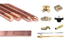 Cát Vạn Lợi sản xuất trọn gói vật tư thi công chống sét tiếp địa và phụ kiện