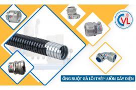 Ống ruột gà bọc nhựa PVC nâng cao khả năng bảo vệ hệ thống điện