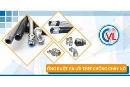 Ống ruột gà lõi thép CVL là sản phẩm bảo vệ dây dẫn tối ưu