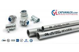 Ống thép luồn dây điện CVL có mặt tại 200 công trình lớn