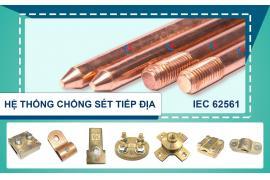 Báo Vietnamnet - Cát Vạn Lợi sản xuất cọc tiếp địa và kim thu sét CVL đạt hợp chuẩn IEC 62561