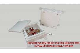 Báo Thanh Niên - Cát Vạn Lợi sản xuất hộp kiểm tra điện trở cho hệ thống chống sét tiếp địa đạt chuẩn IEC 62561