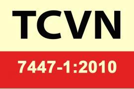 TCVN 7447-1:2010 - Hệ thống lắp đặt điện hạ áp (Phần 1)