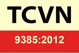 TCVN 9385:2012 - Tiêu chuẩn quốc gia chống sét cho công trình xây dựng