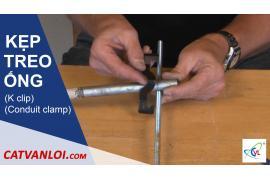 Hướng dẫn lắp đặt, sử dụng Kẹp treo ống giữa ty ren
