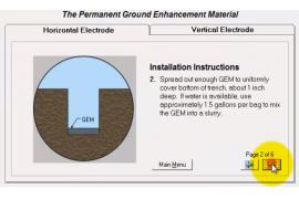 Tính toán thiết kế hệ thống tiếp địa để sử dụng hóa chất giảm điện trở (GEM)