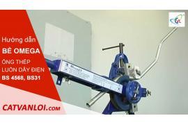 Hướng dẫn bẻ OMEGA bằng Máy bẻ ống thép luồn dây điện BS4568, BS31, JIS C 8305