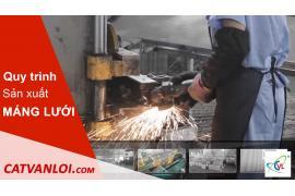 Giới thiệu quy trình sản xuất máng cáp dạng lưới