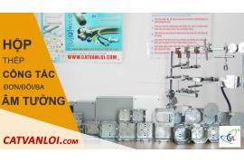 Hướng dẫn lắp đặt hộp công tắc đơn trong hệ thống cơ điện