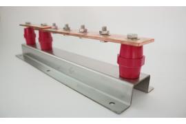 Điểm kết nối đơn (Earth Bar with single disconnecting link) tiếp địa chống sét đạt chuẩn IEC 62561