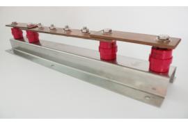 Điểm kết nối đôi (Earth bars with double single disconnecting link) chống sét đạt chuẩn IEC 62561